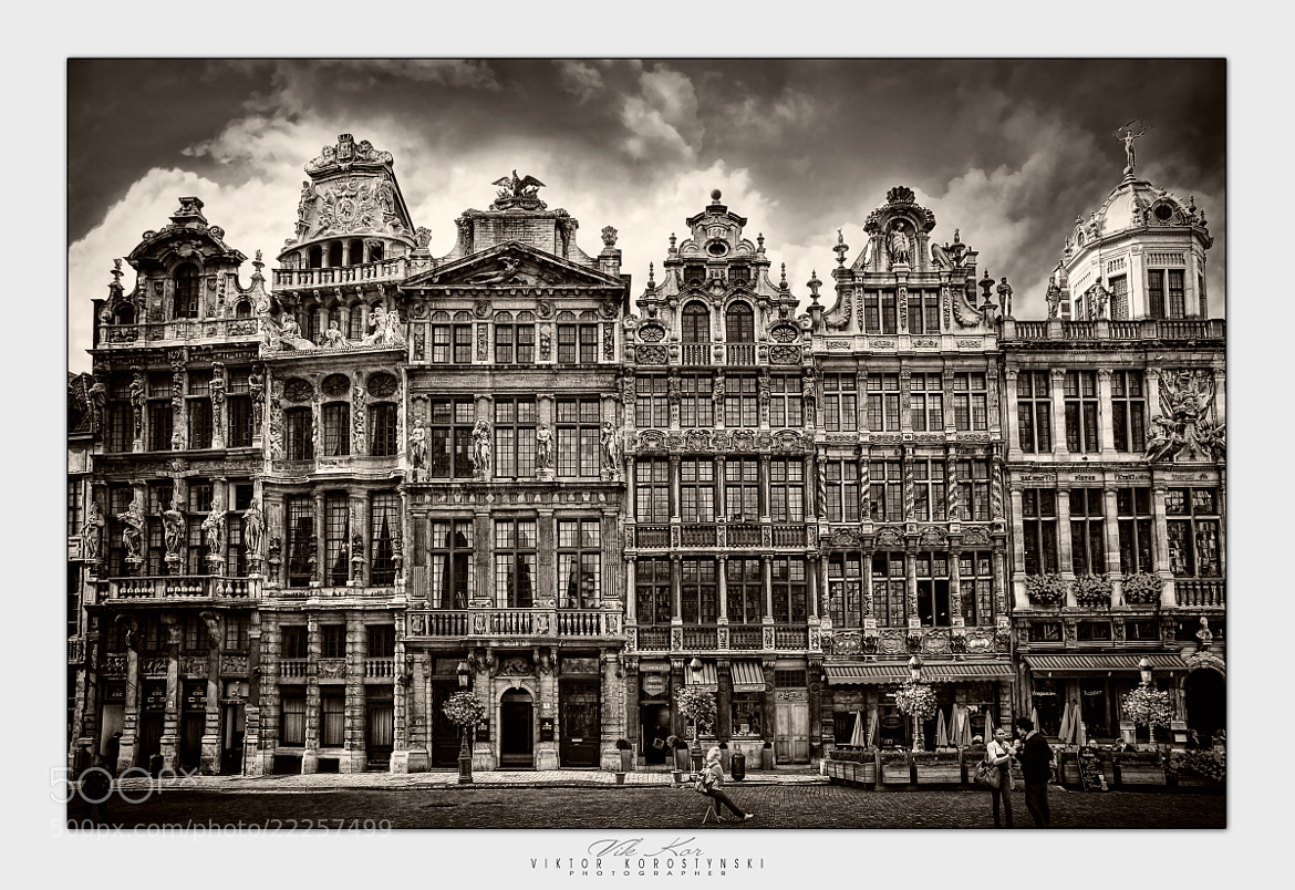 Photograph Grand Place in Brussels by Viktor Korostynski on 500px