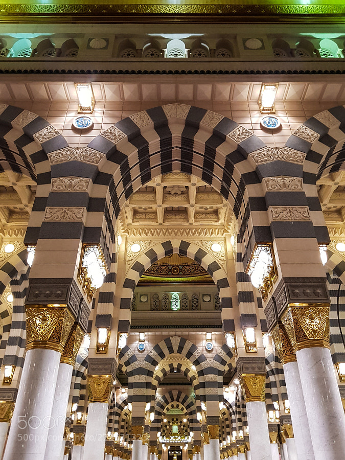 Arches in Madina by muntada