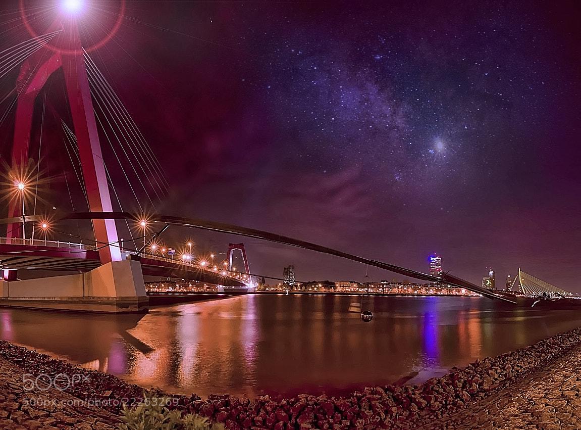 Photograph Rotterdam cosmos by Patrick Strik on 500px