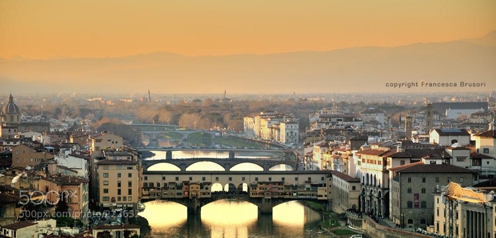Photograph Ponte Vecchio. Firenze by Francesca Brusori on 500px