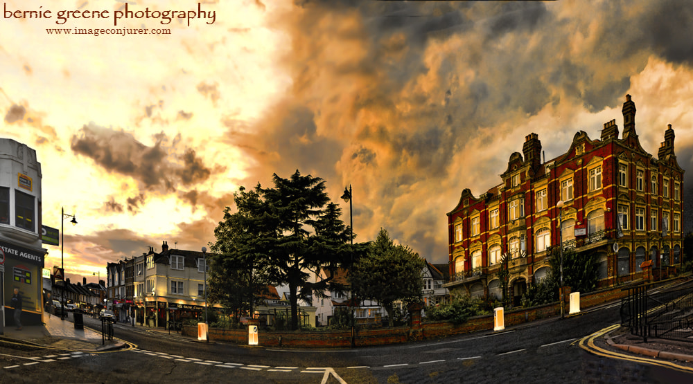 Photograph The once grand Grand Hotel - Leigh-on-Sea, Essex by Bernie Greene on 500px