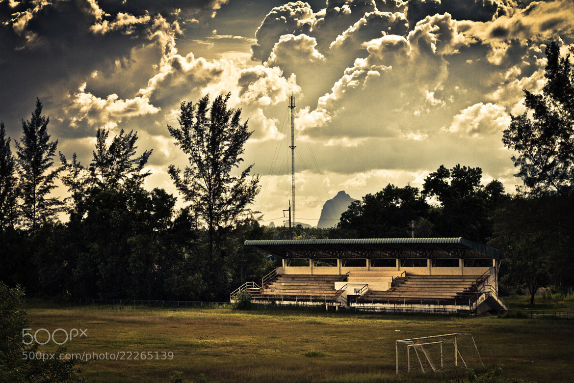 Photograph Stadium by Nitchakan Changsan on 500px