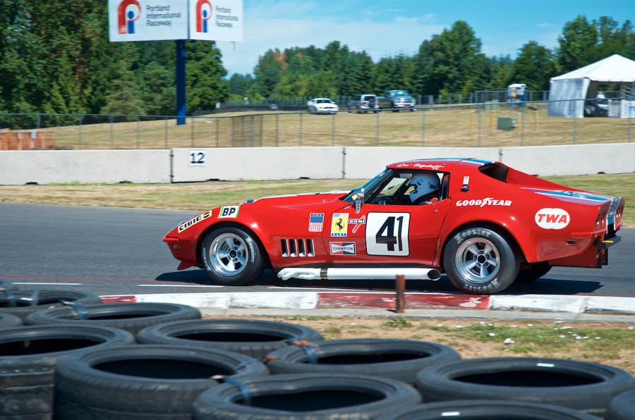 Chevy Corvette, Rose Cup Races, 2017