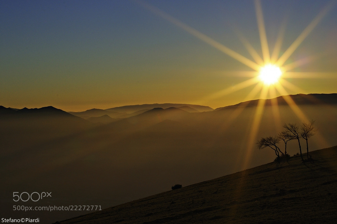 Photograph Appennino sunset by Stefano Piardi on 500px