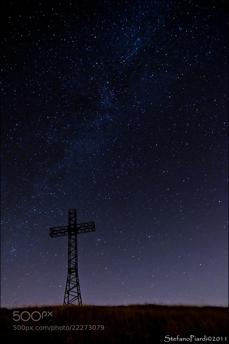 Photograph Up the sky, down the cross... by Stefano Piardi on 500px