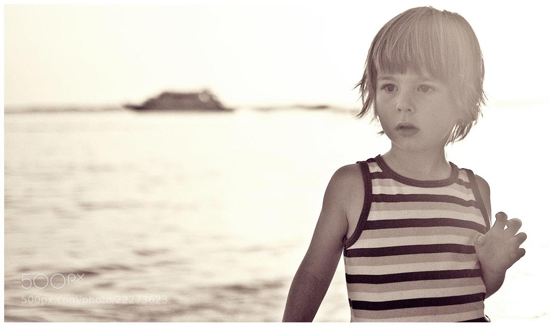 Photograph vintage beach-boy by janezferkolj on 500px