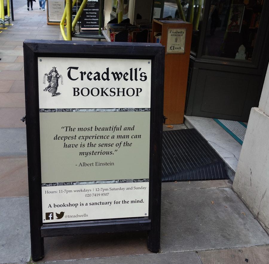 Treadwell's Bookshop, London by Sandra on 500px.com