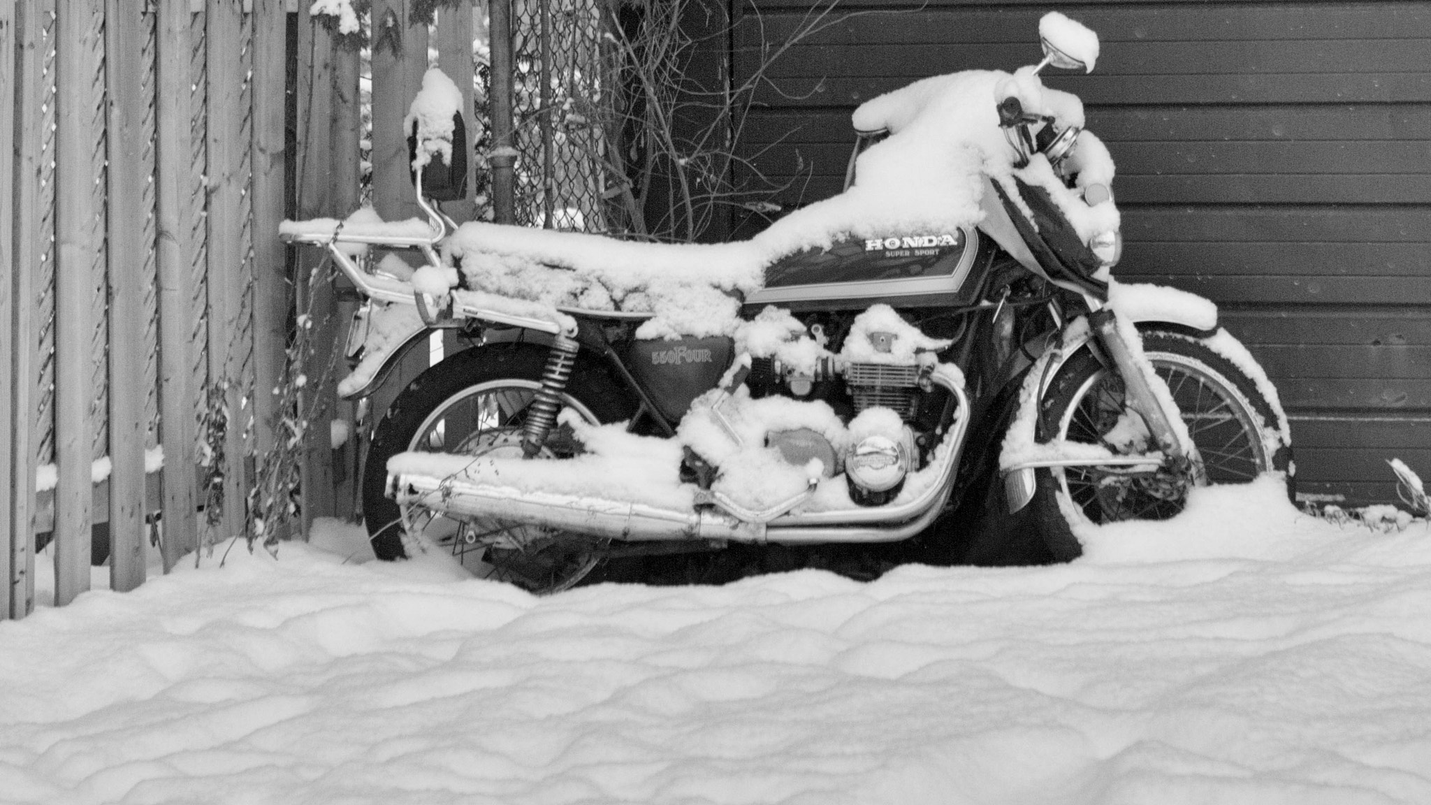 Photograph Snow Cycle by Ash Furrow on 500px