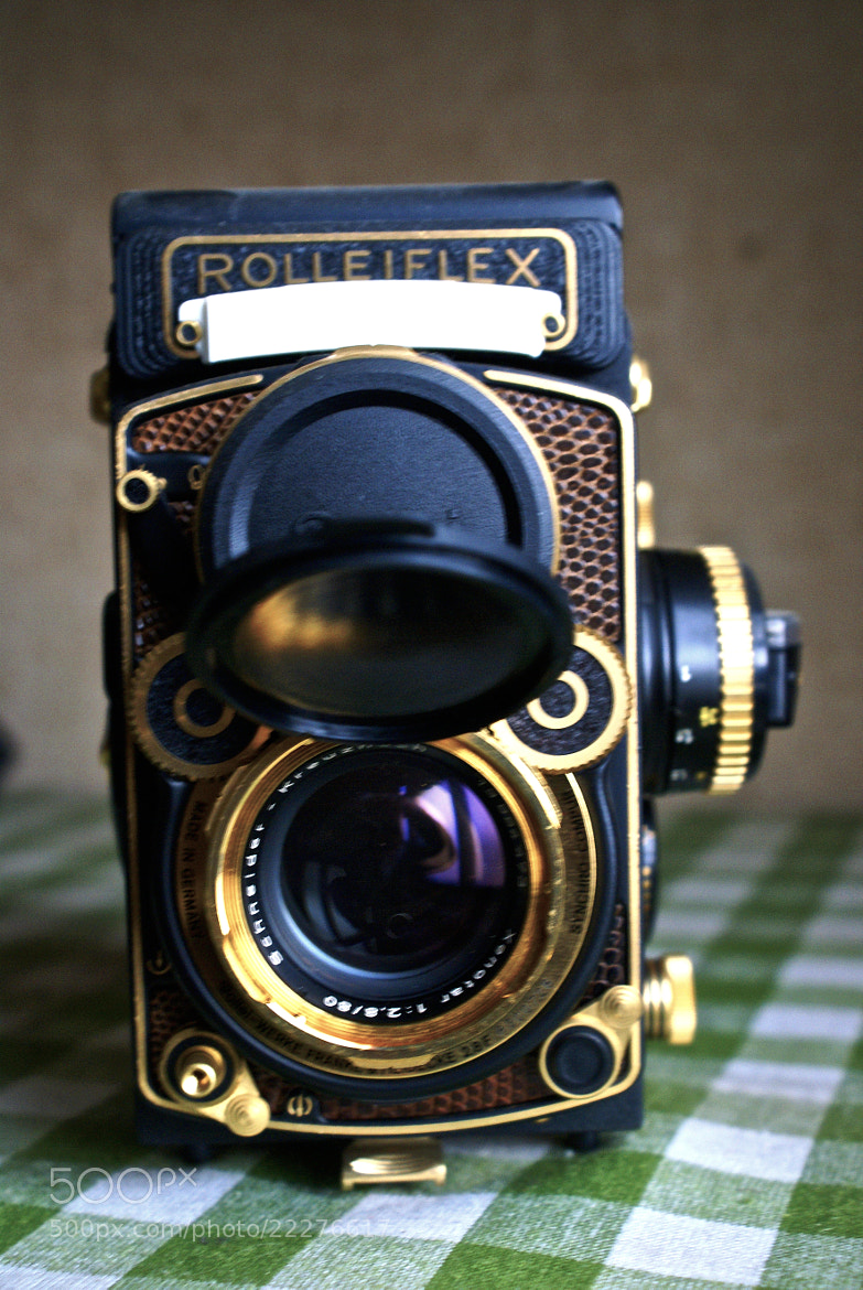 Photograph The old Rolleiflex by Tim Ernst on 500px