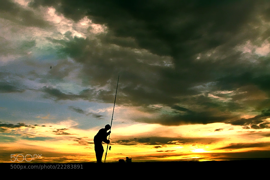 Photograph Fishing by 3 Joko on 500px