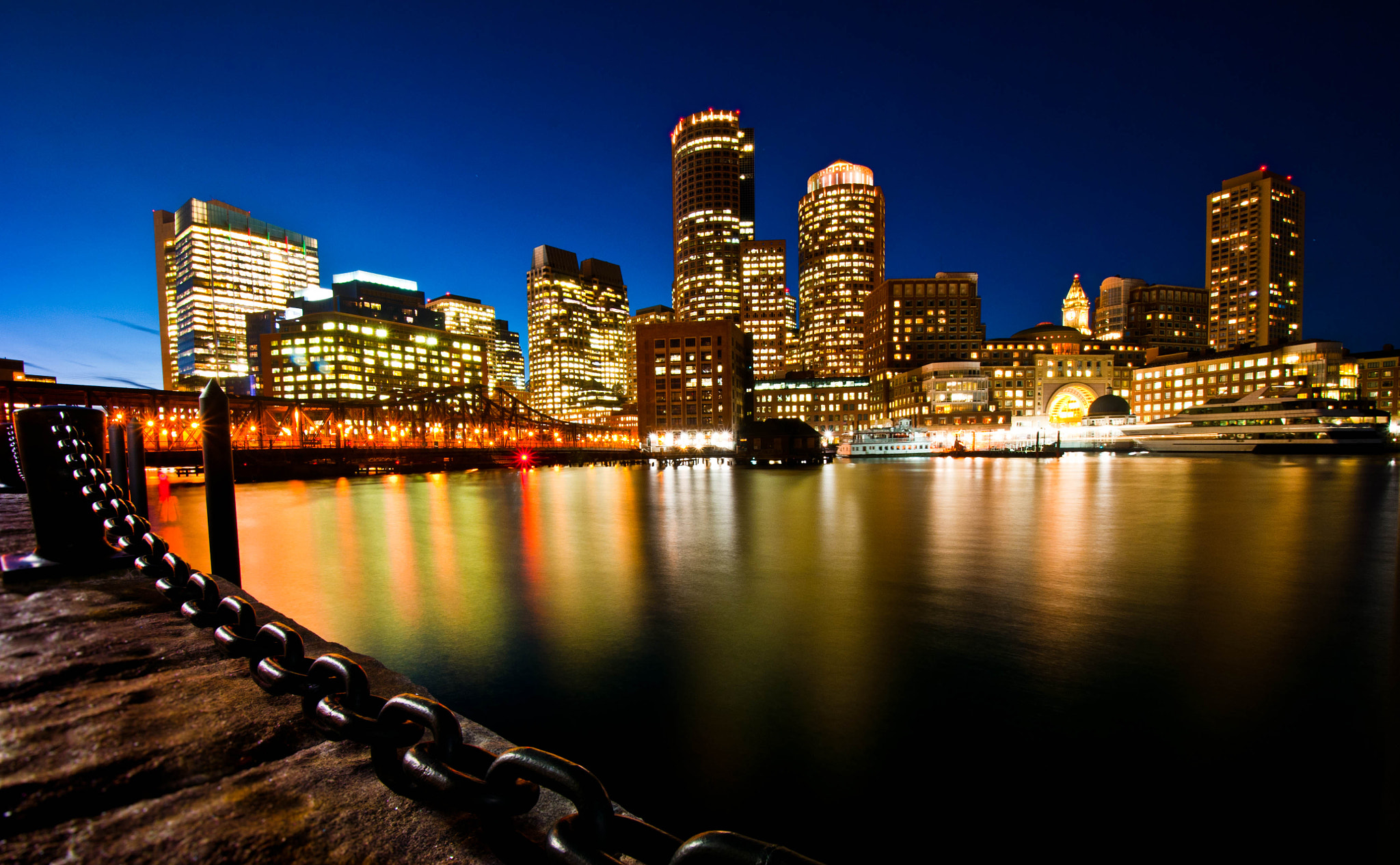 Photograph Boston Harbor by OastinLive on 500px