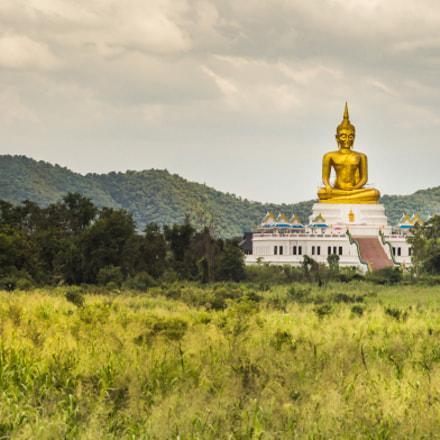 Buddha among the valley.