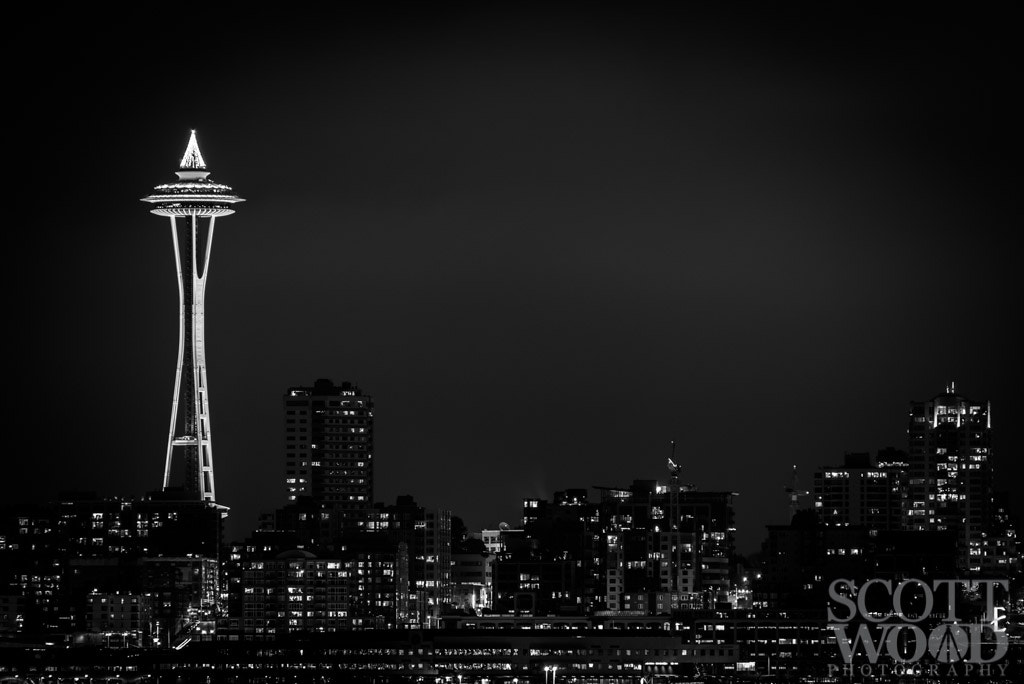 Photograph The Space Needle by Scott Wood on 500px