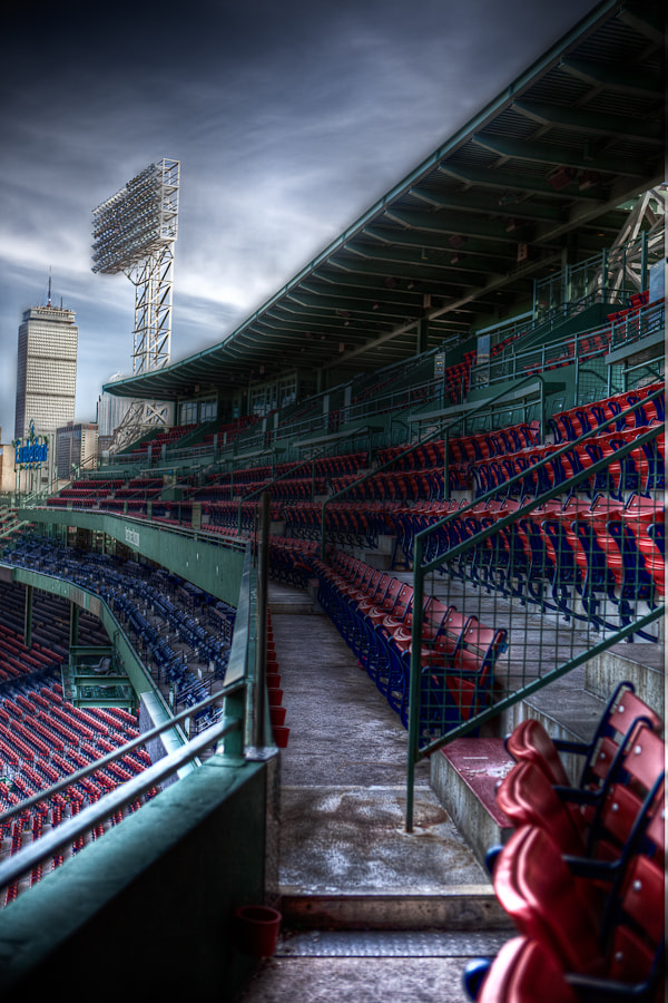 Photograph Fenway Park by Paul Shea on 500px