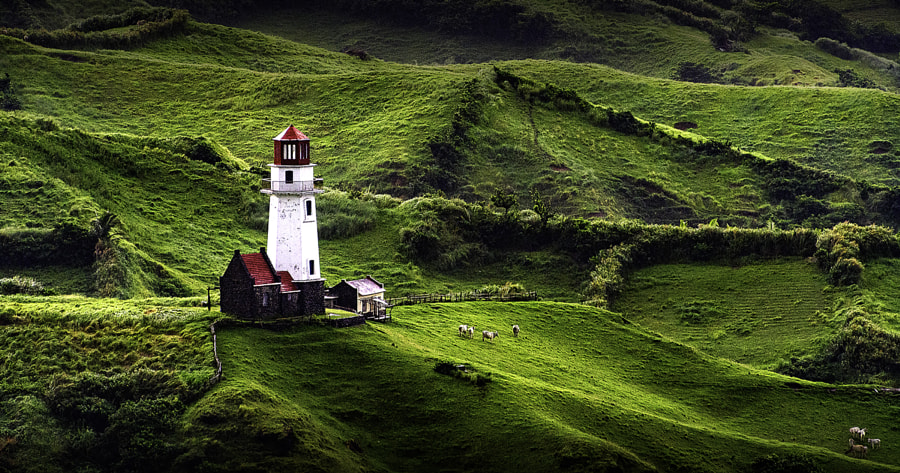 "Coastal Lighthouse, landscape photo ""From Afar"" by Landscape photographer Rey Gonzales Ferino on 500px.com"