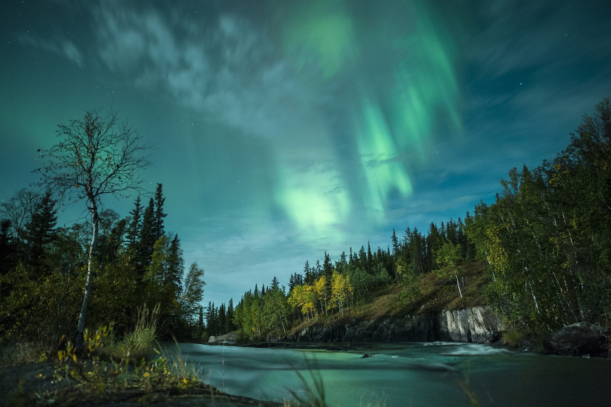 Photograph Northern Lights by Michael Ericsson on 500px