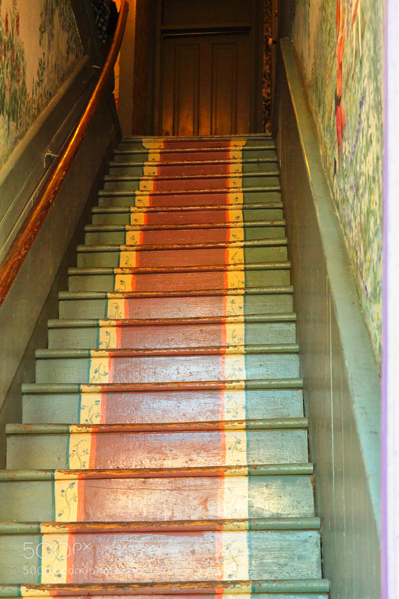 Photograph Narrow Stairs - Eureka Springs by JVinson  on 500px