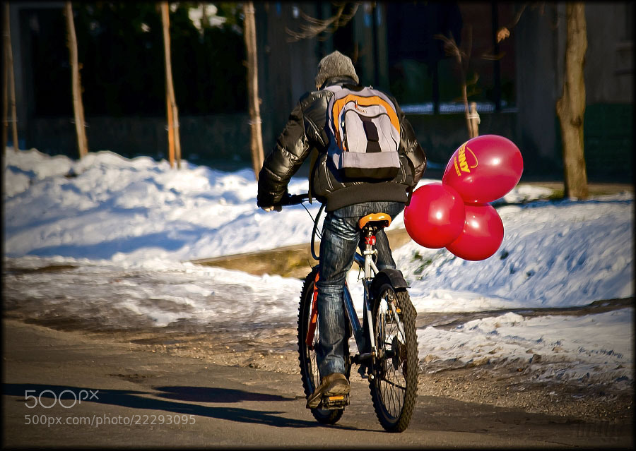 Photograph Cyclist by Merl Antal György on 500px