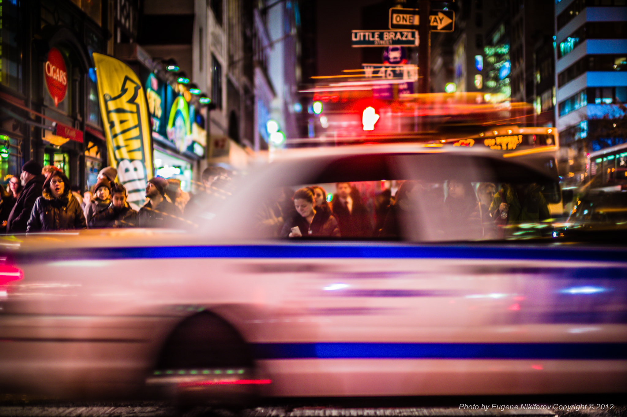 Photograph NYPD, 5th Avenue, New York by Eugene Nikiforov on 500px