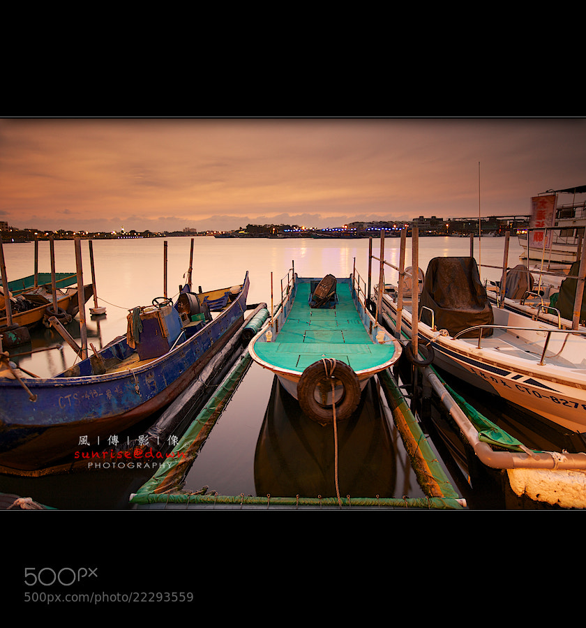 Photograph Sunset in Anping 安平日落 by Sunrise@dawn 風傳影像 on 500px