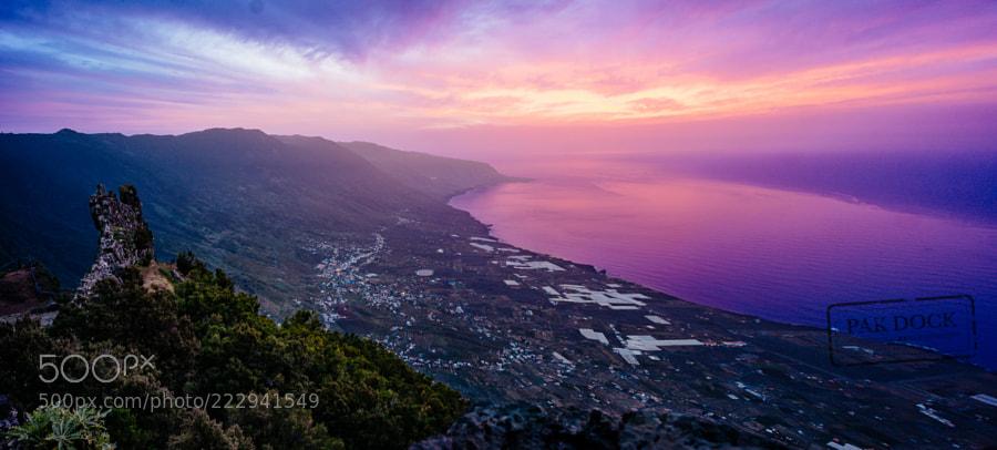 Sunset at Jinama - El Hierro