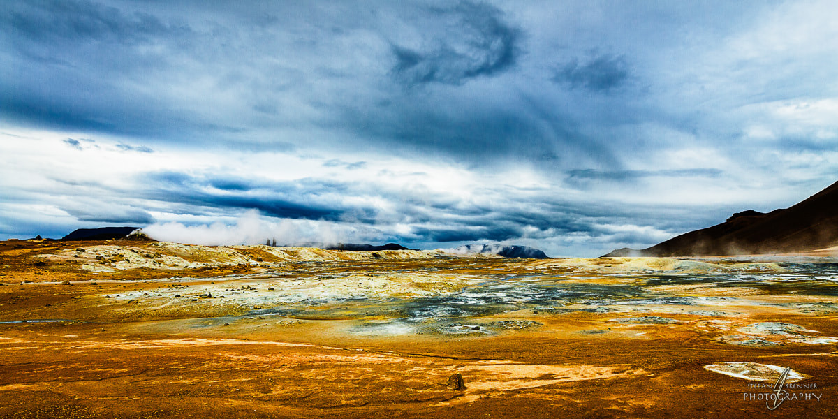 Photograph Breathing Earth at Námafjall by Stefan Brenner on 500px