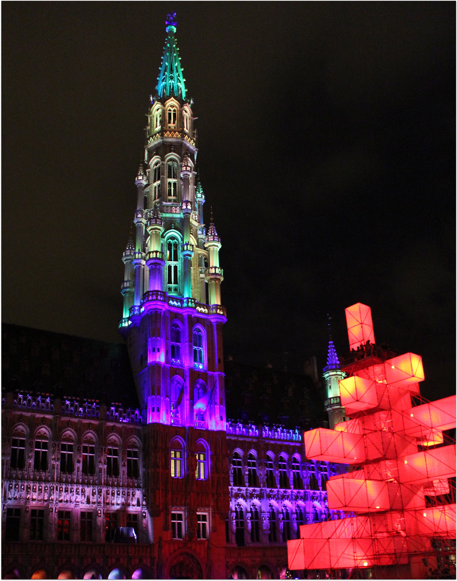 Photograph Christmas at Brussels by Sandeep Malhotra on 500px