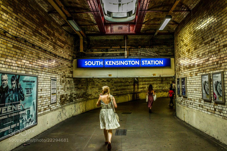 Photograph South Kensington Station by Gerard Inglés Camats on 500px