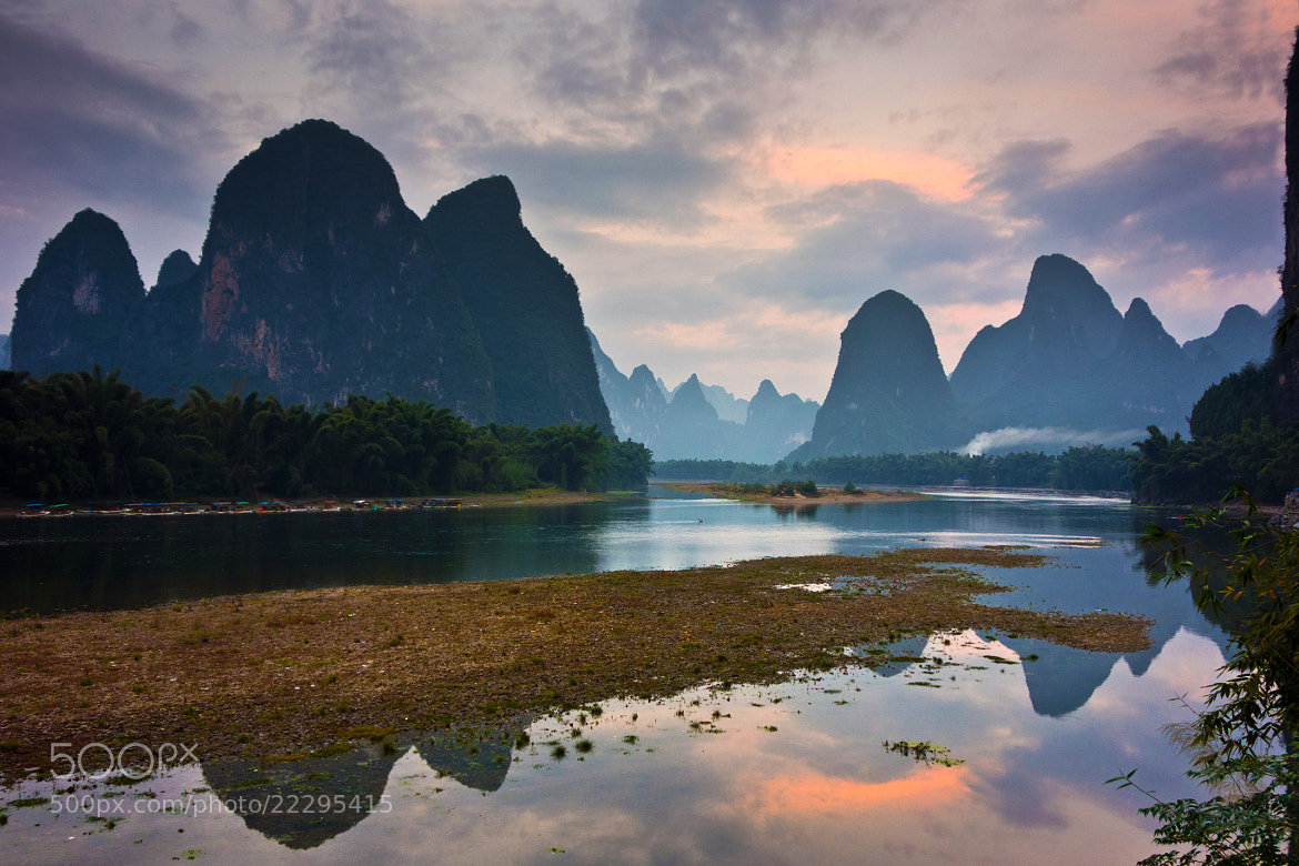 Photograph Lijiang river sunrise, China by Kenny Muir on 500px