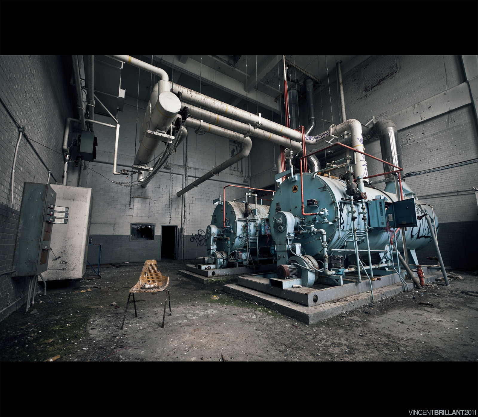 Photograph Boiler Room by Vincent  Brillant on 500px