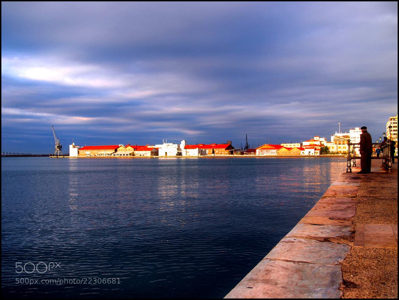 "Photograph ""Looking at the mole""  (Thessaloniki-Hellas) by Kounoupis Anastasios  on 500px"