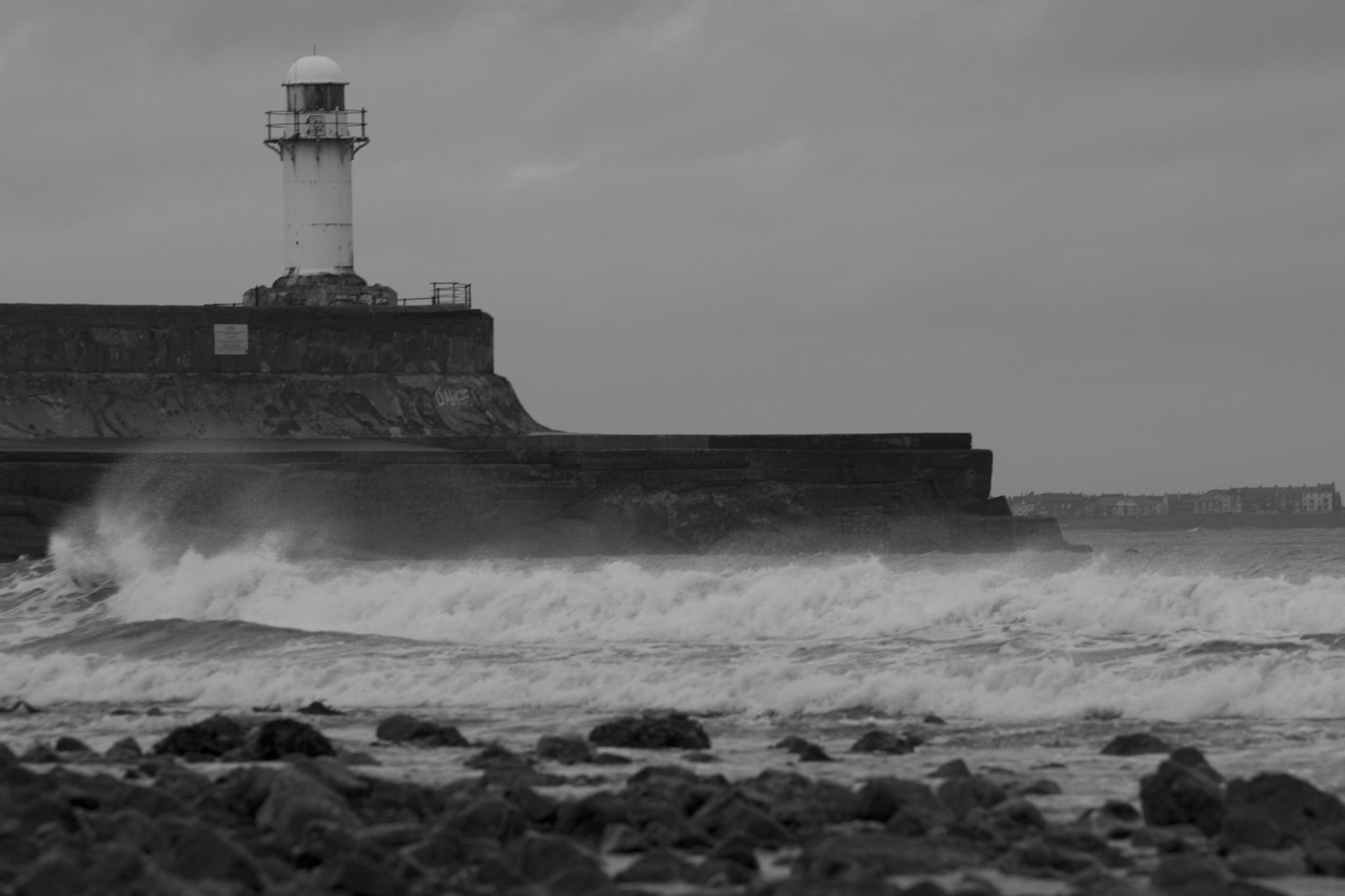 Photograph Winter Lighthouse by Mark Elsworth on 500px