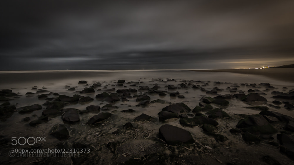 Photograph Rocks,beach ,view to Noordwijk by Jan Teeuwen on 500px