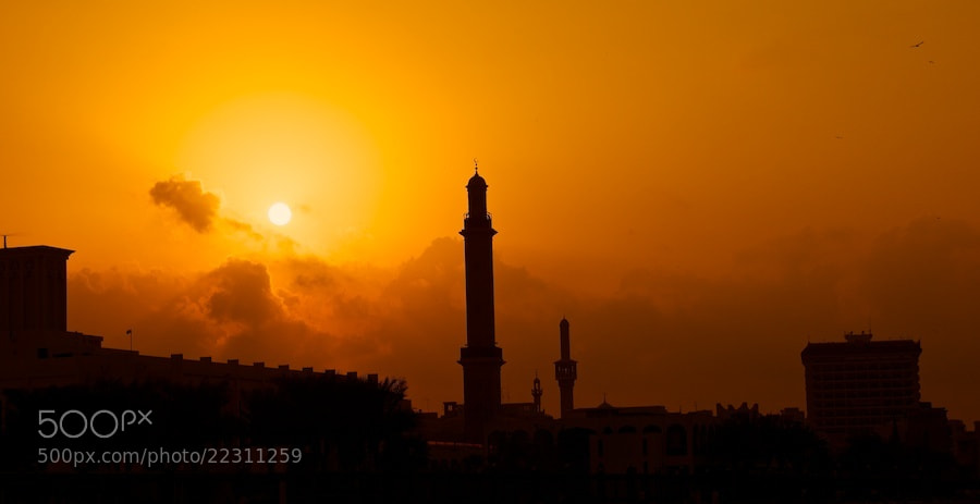 Photograph Old Dubai - Evening Glory by Sean Cheng on 500px