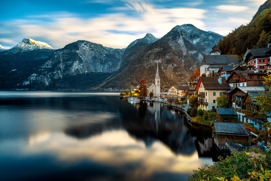 "Landscape Photo of the day ""Cold Hallstatt Evening"" by Landscape Photographer Andris Garkalns on 500px.com"