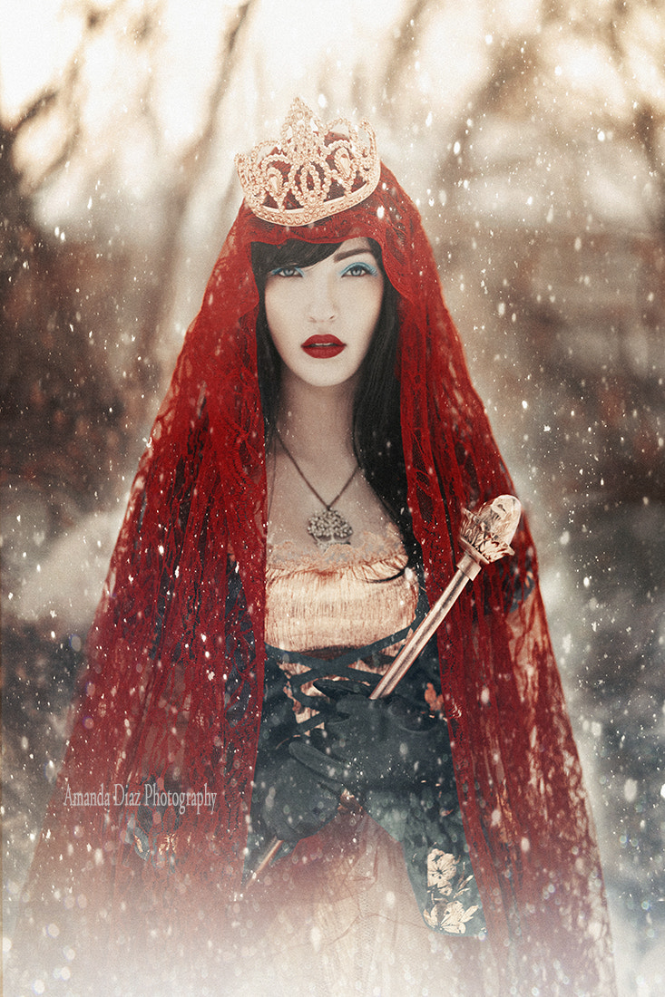 Photograph Snow White II by Amanda Diaz on 500px