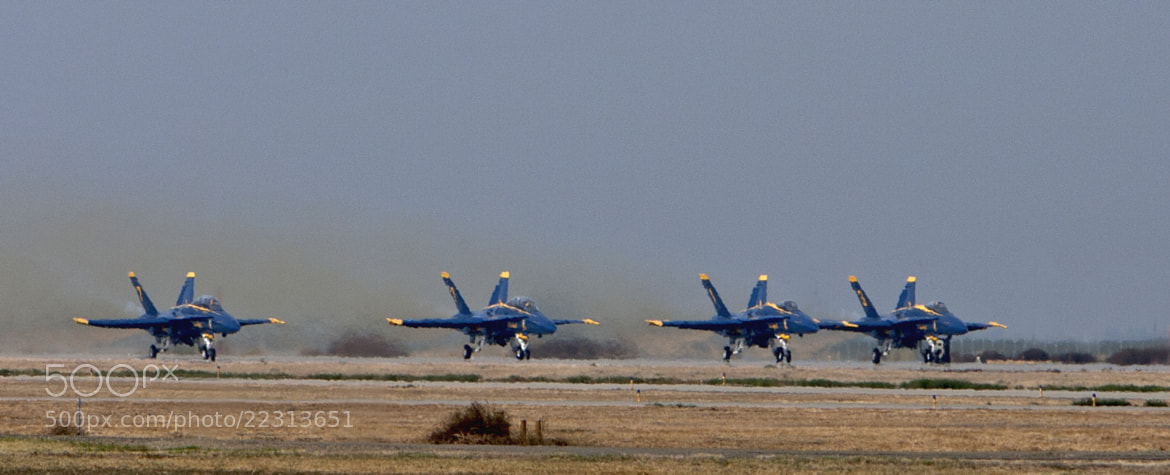 Photograph Take-Off  -  Blue Angels Air Show by Mark Hendrickson on 500px
