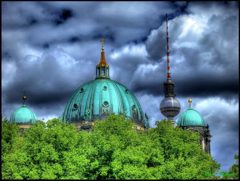 Photograph Cathedral and Tower by Fred Coleman on 500px