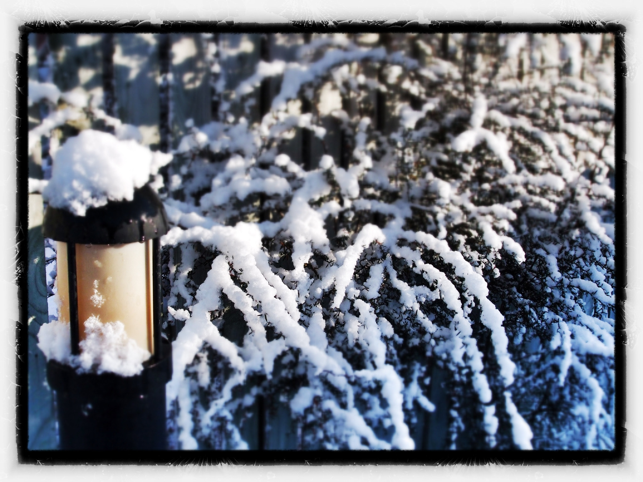 Photograph Snowy Lantern by Oliver Carr on 500px
