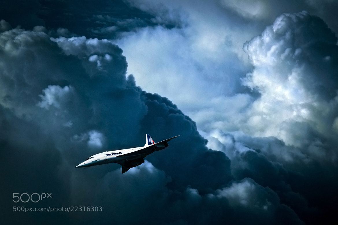 Photograph Aérospatiale-BAC Concorde by Greg  Sims on 500px