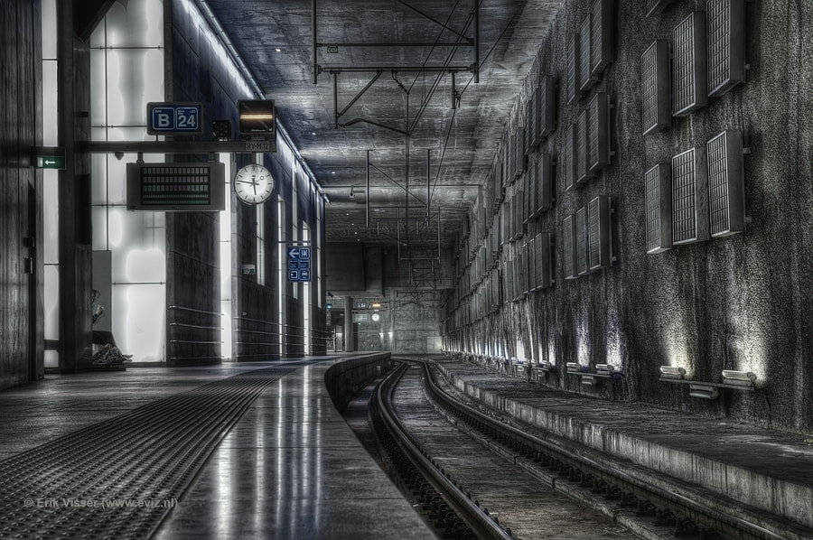 Photograph Antwerp Railwaystation by Erik Visser on 500px
