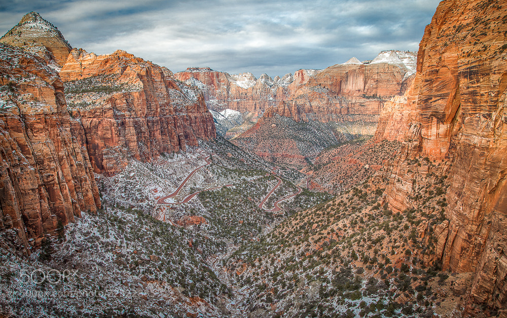 Photograph Hiking Canyon Overlook in Zion by Valerie Millett on 500px