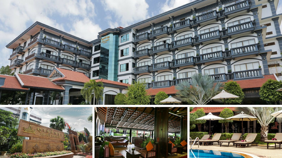 Lucy Angkor Hotel & Spa Exterior and Lobby by Sai Karthik Reddy Mekala on 500px.com