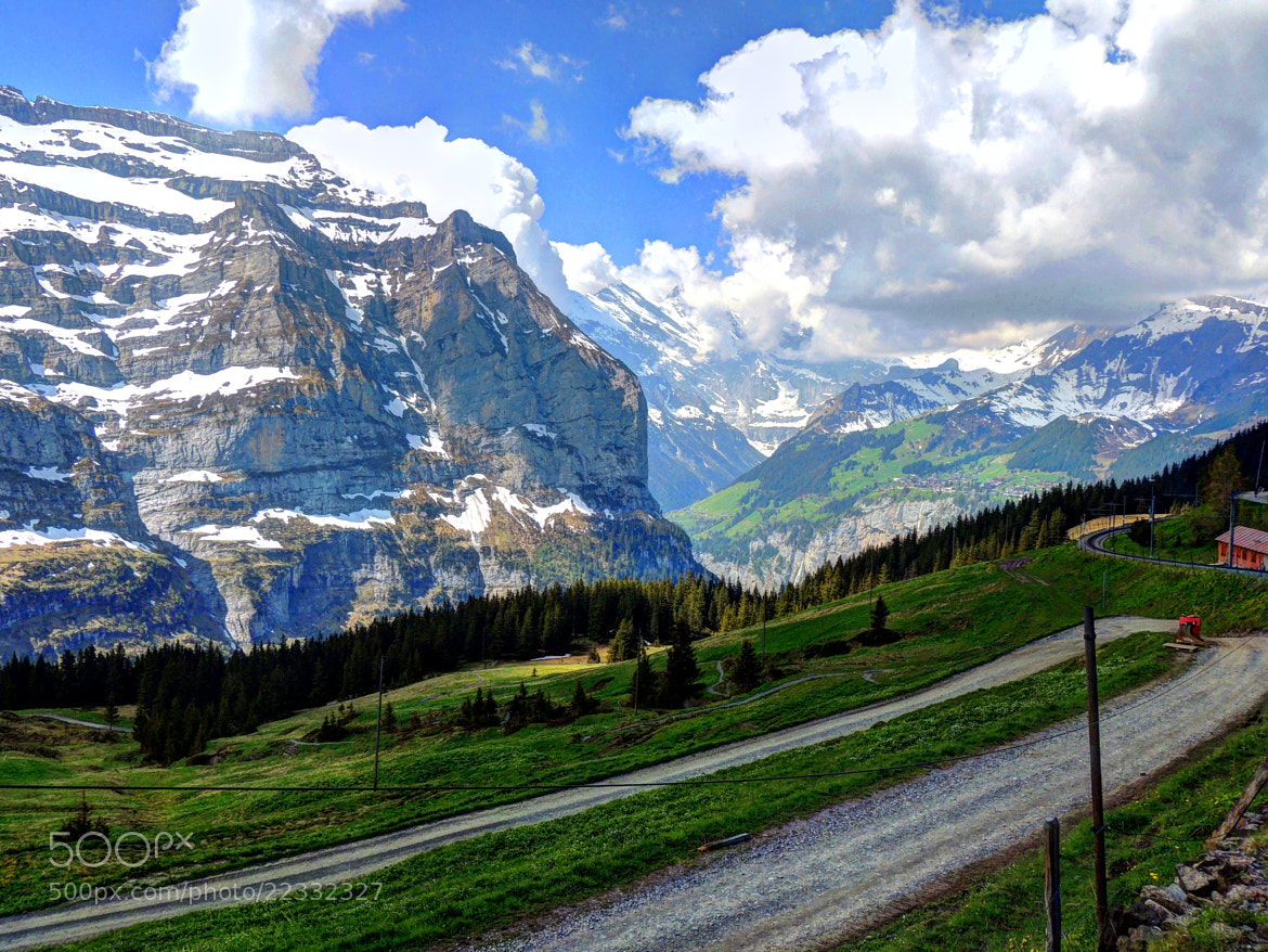 Photograph Views along the Jungfraubahn... by Ravi S R on 500px