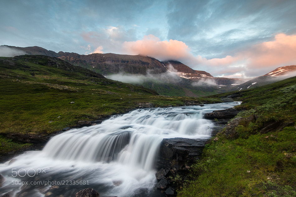 Photograph Skittendalen Valley at midnight by Arild Heitmann on 500px
