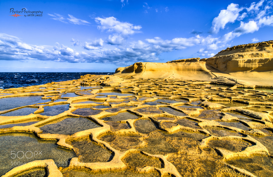 Photograph Salt Pans, Malta by PHOTONPHOTOGRAPHY  - Viktor Lakics on 500px