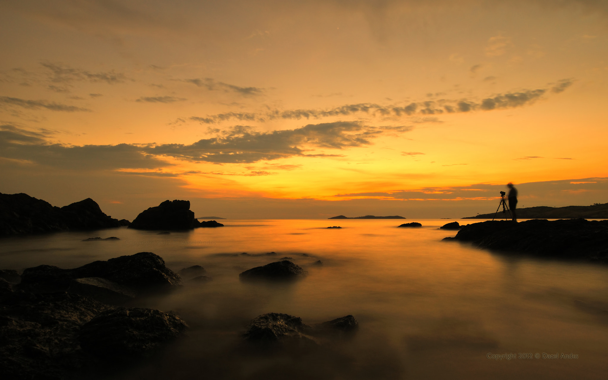 Photograph The Last Light by Dacel Andes on 500px