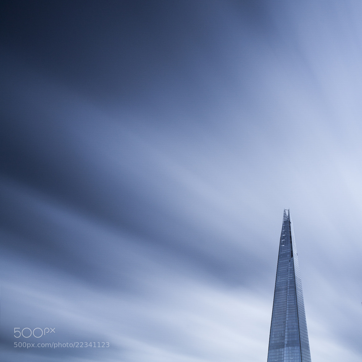 Photograph Shard times by Terry Gibbins on 500px