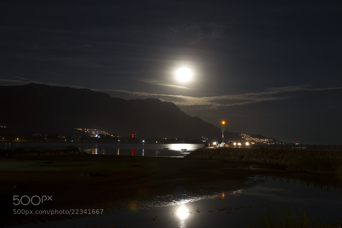 Photograph Full moon and lagoon by Cristobal Garciaferro Rubio on 500px