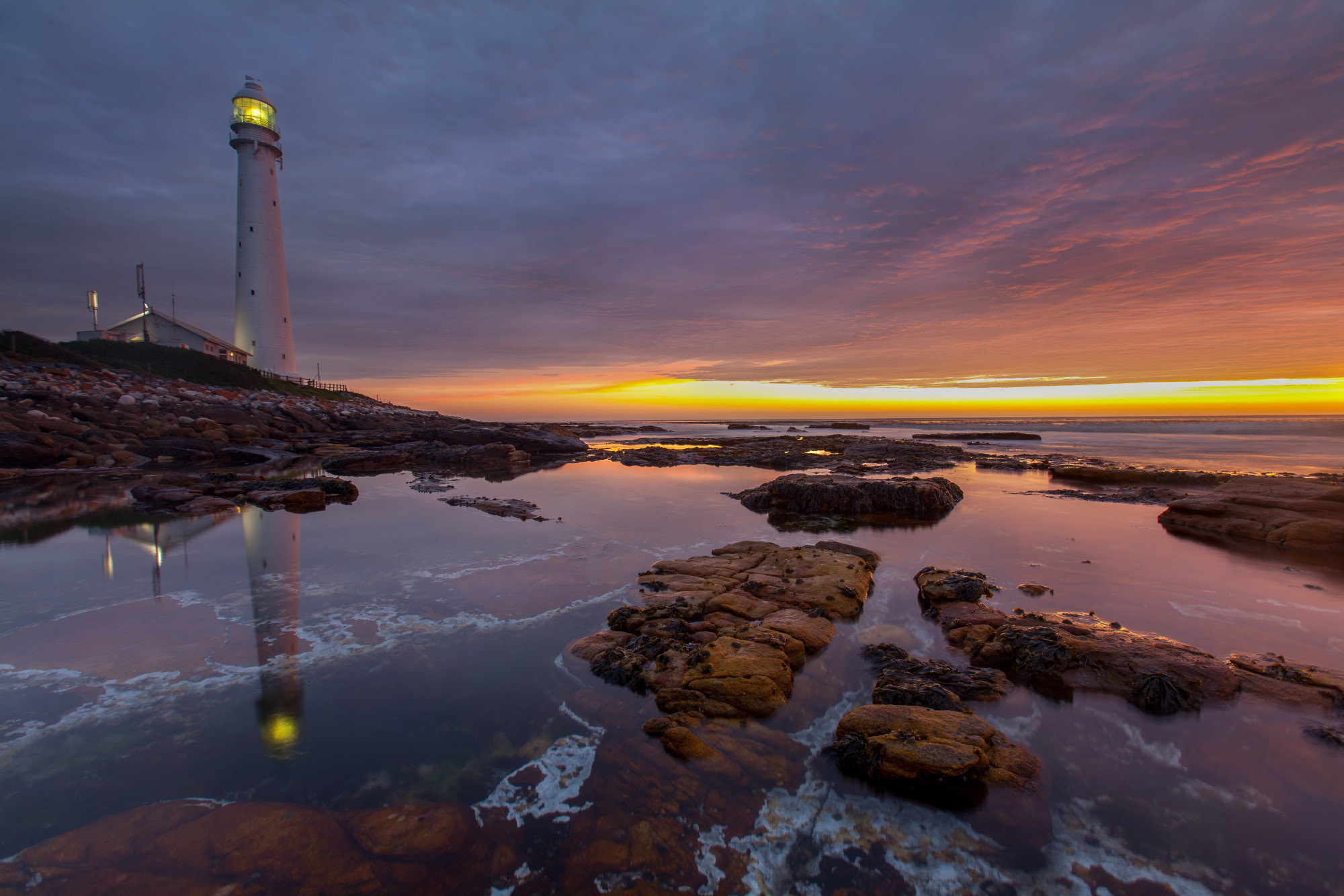 Photograph Slangkop Lighthouse by Michael Wrankmore on 500px